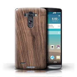 STUFF4 Phone Case/Cover for LG G3/D850/D855/Walnut Design/Wood Grain Effect/Pattern Mobile phones