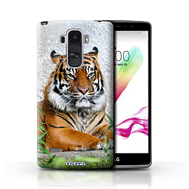 STUFF4 Phone Case/Cover for LG G4 Stylus/Tiger Design/Wildlife Animals Mobile phones