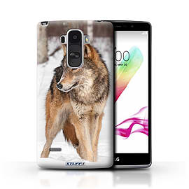 STUFF4 Phone Case/Cover for LG G4 Stylus/Wolf Design/Wildlife Animals Mobile phones