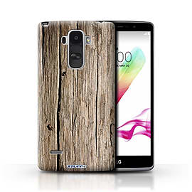 STUFF4 Phone Case/Cover for LG G4 Stylus/Driftwood Design/Wood Grain Effect/Pattern Mobile phones