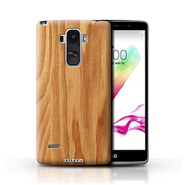 STUFF4 Phone Case/Cover for LG G4 Stylus/Oak Design/Wood Grain Effect/Pattern Mobile phones