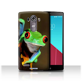 STUFF4 Phone Case/Cover for LG G4/H815/H818/Frog Design/Wildlife Animals Mobile phones
