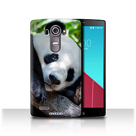 STUFF4 Phone Case/Cover for LG G4/H815/H818/Panda Bear Design/Wildlife Animals Mobile phones