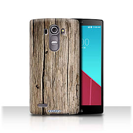 STUFF4 Phone Case/Cover for LG G4/H815/H818/Driftwood Design/Wood Grain Effect/Pattern Mobile phones