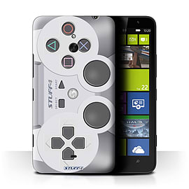 STUFF4 Phone Case/Cover for Nokia Lumia 1320/Playstation PS1 Design/Games Console Mobile phones