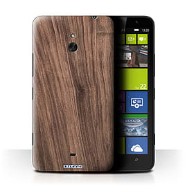 STUFF4 Phone Case/Cover for Nokia Lumia 1320/Walnut Design/Wood Grain Effect/Pattern Mobile phones