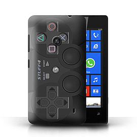STUFF4 Phone Case/Cover for Nokia Lumia 520/Playstation PS3 Design/Games Console Mobile phones