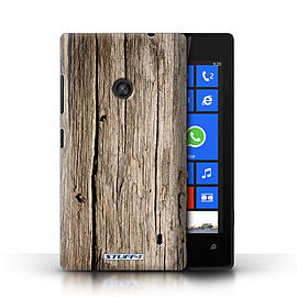 STUFF4 Phone Case/Cover for Nokia Lumia 520/Driftwood Design/Wood Grain Effect/Pattern Mobile phones