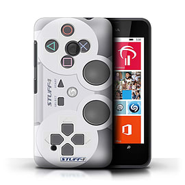 STUFF4 Phone Case/Cover for Nokia Lumia 530/Playstation PS1 Design/Games Console Mobile phones