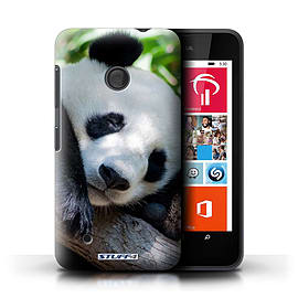 STUFF4 Phone Case/Cover for Nokia Lumia 530/Panda Bear Design/Wildlife Animals Mobile phones