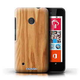 STUFF4 Phone Case/Cover for Nokia Lumia 530/Oak Design/Wood Grain Effect/Pattern Mobile phones