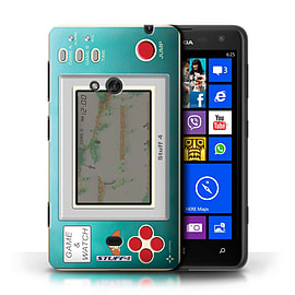 STUFF4 Phone Case/Cover for Nokia Lumia 625/Donkey Kong JR Design/Games Console Mobile phones