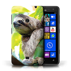 STUFF4 Phone Case/Cover for Nokia Lumia 625/Sloth Design/Wildlife Animals Mobile phones