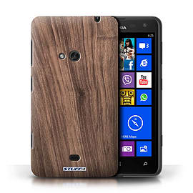 STUFF4 Phone Case/Cover for Nokia Lumia 625/Walnut Design/Wood Grain Effect/Pattern Mobile phones