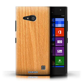 STUFF4 Phone Case/Cover for Nokia Lumia 735/Pine Design/Wood Grain Effect/Pattern Mobile phones