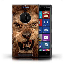 STUFF4 Phone Case/Cover for Nokia Lumia 830/Lion Design/Wildlife Animals Mobile phones
