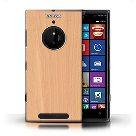 STUFF4 Phone Case/Cover for Nokia Lumia 830/Beech Design/Wood Grain Effect/Pattern Mobile phones