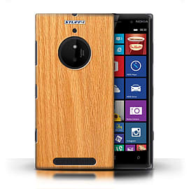 STUFF4 Phone Case/Cover for Nokia Lumia 830/Pine Design/Wood Grain Effect/Pattern Mobile phones
