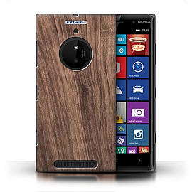 STUFF4 Phone Case/Cover for Nokia Lumia 830/Walnut Design/Wood Grain Effect/Pattern Mobile phones