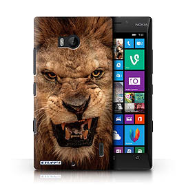STUFF4 Phone Case/Cover for Nokia Lumia 930/Lion Design/Wildlife Animals Mobile phones