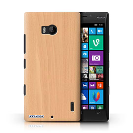 STUFF4 Phone Case/Cover for Nokia Lumia 930/Beech Design/Wood Grain Effect/Pattern Mobile phones