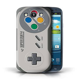 STUFF4 Phone Case/Cover for Samsung Galaxy S3/SIII/Super Nintendo Design/Games Console Mobile phones