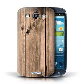 STUFF4 Phone Case/Cover for Samsung Galaxy S3/SIII/Plank Design/Wood Grain Effect/Pattern Mobile phones