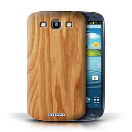 STUFF4 Phone Case/Cover for Samsung Galaxy S3/SIII/Oak Design/Wood Grain Effect/Pattern Mobile phones