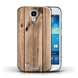 STUFF4 Phone Case/Cover for Samsung Galaxy S4/SIV/Plank Design/Wood Grain Effect/Pattern Mobile phones