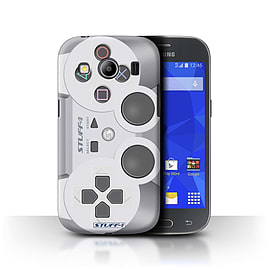 STUFF4 Phone Case/Cover for Samsung Galaxy Ace 4/G357/Playstation PS1 Design/Games Console Mobile phones