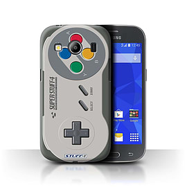 STUFF4 Phone Case/Cover for Samsung Galaxy Ace 4/G357/Super Nintendo Design/Games Console Mobile phones