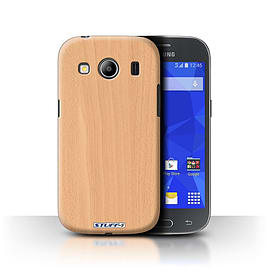 STUFF4 Phone Case/Cover for Samsung Galaxy Ace 4/G357/Beech Design/Wood Grain Effect/Pattern Mobile phones