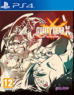 Guilty Gear Xrd -REVELATOR- PlayStation 4 Cover Art