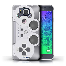 STUFF4 Phone Case/Cover for Samsung Galaxy Alpha/Playstation PS1 Design/Games Console Mobile phones