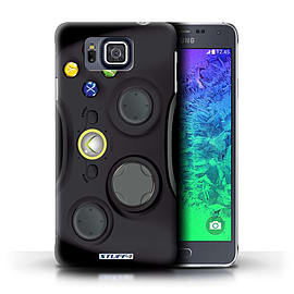 STUFF4 Phone Case/Cover for Samsung Galaxy Alpha/Black Xbox 360 Design/Games Console Mobile phones