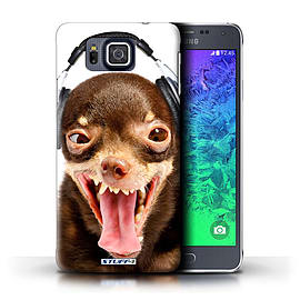 STUFF4 Phone Case/Cover for Samsung Galaxy Alpha/Ridiculous Dog Design/Funny Animals Mobile phones