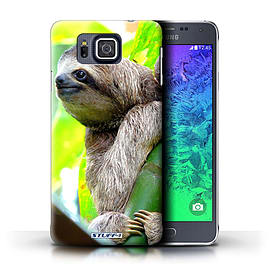 STUFF4 Phone Case/Cover for Samsung Galaxy Alpha/Sloth Design/Wildlife Animals Mobile phones