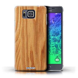 STUFF4 Phone Case/Cover for Samsung Galaxy Alpha/Oak Design/Wood Grain Effect/Pattern Mobile phones