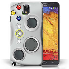 STUFF4 Phone Case/Cover for Samsung Galaxy Note 3/White Xbox 360 Design/Games Console Mobile phones