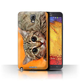 STUFF4 Phone Case/Cover for Samsung Galaxy Note 3 Neo/Big Eye Cat Design/Funny Animals Mobile phones