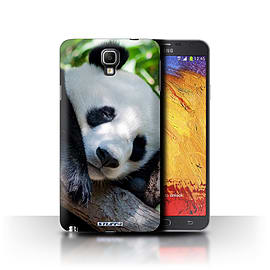 STUFF4 Phone Case/Cover for Samsung Galaxy Note 3 Neo/Panda Bear Design/Wildlife Animals Mobile phones
