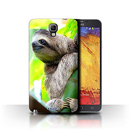 STUFF4 Phone Case/Cover for Samsung Galaxy Note 3 Neo/Sloth Design/Wildlife Animals Mobile phones