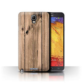STUFF4 Phone Case/Cover for Samsung Galaxy Note 3 Neo/Plank Design/Wood Grain Effect/Pattern Mobile phones