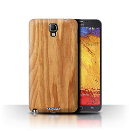 STUFF4 Phone Case/Cover for Samsung Galaxy Note 3 Neo/Oak Design/Wood Grain Effect/Pattern Mobile phones