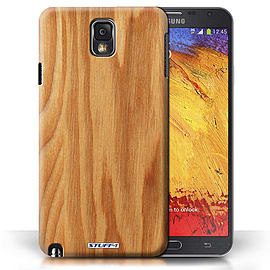 STUFF4 Phone Case/Cover for Samsung Galaxy Note 3/Oak Design/Wood Grain Effect/Pattern Mobile phones
