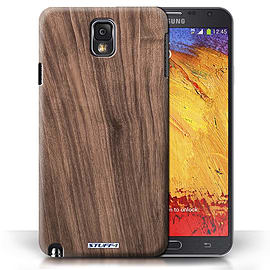 STUFF4 Phone Case/Cover for Samsung Galaxy Note 3/Walnut Design/Wood Grain Effect/Pattern Mobile phones