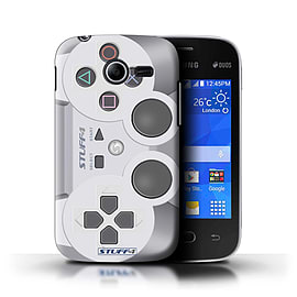 STUFF4 Phone Case/Cover for Samsung Galaxy Pocket 2/Playstation PS1 Design/Games Console Mobile phones