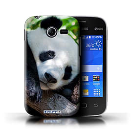 STUFF4 Phone Case/Cover for Samsung Galaxy Pocket 2/Panda Bear Design/Wildlife Animals Mobile phones