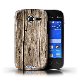 STUFF4 Phone Case/Cover for Samsung Galaxy Pocket 2/Driftwood Design/Wood Grain Effect/Pattern Mobile phones
