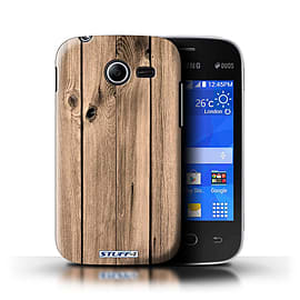 STUFF4 Phone Case/Cover for Samsung Galaxy Pocket 2/Plank Design/Wood Grain Effect/Pattern Mobile phones